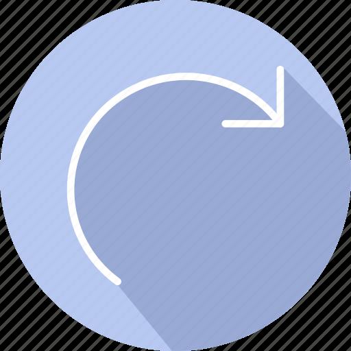arrows, curve arrow, curved arrow, next, skip icon