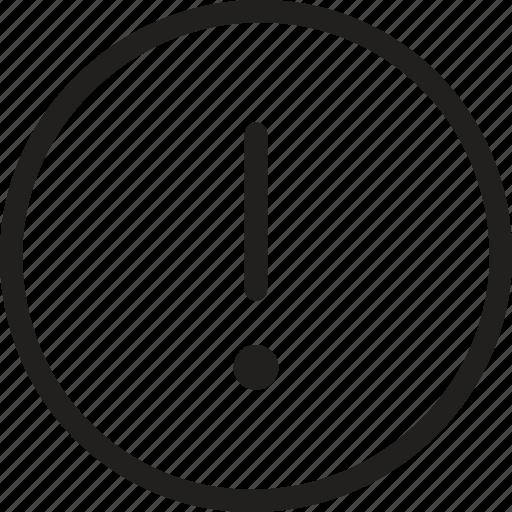 Warning, alert, attention, caution, danger, error, sign icon - Download on Iconfinder