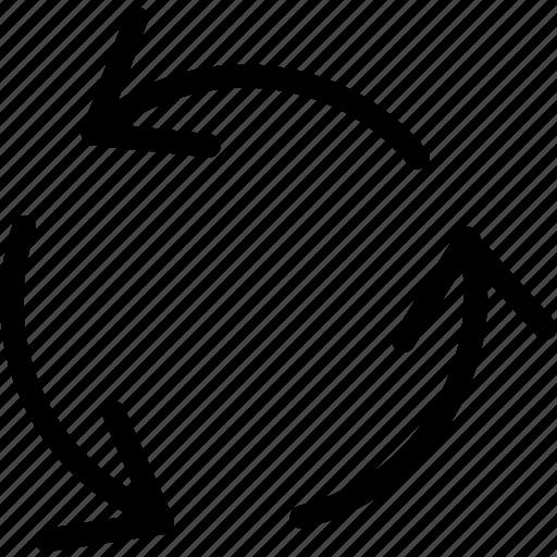 arrow, arrows, direction, exchange, move, navigation, pointer icon