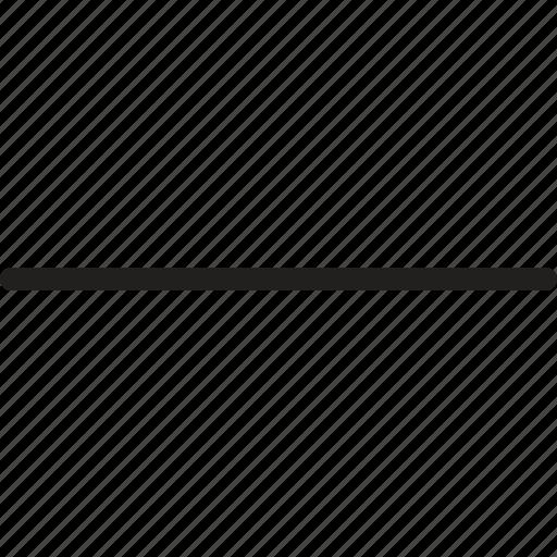 arrow, delete, down, minus, navigation, remove, sign icon