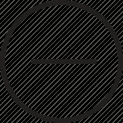 cancel, close, delete, minus, recycle, remove, stop icon