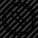 arrow, up, left