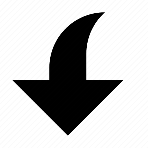 Arrow, bottom, down, download, downward, save icon - Download on Iconfinder