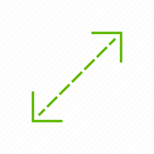 arrow, direction, resize icon