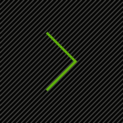 arrow, arrows, direction, location, right icon