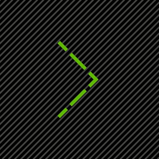 arrow, arrows, direction, location, move, right icon
