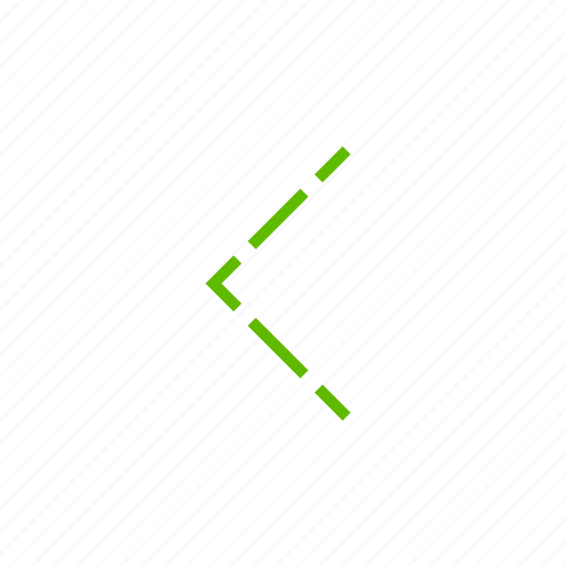 arrow, direction, down, left, pointer icon