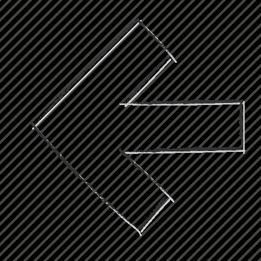 Direction, izquierda, left icon - Download on Iconfinder