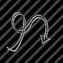 arrow doodle