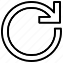 refresh, reload, orientation, arrow, direction