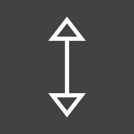 arrow, arrows, direction, double, down, side, up icon