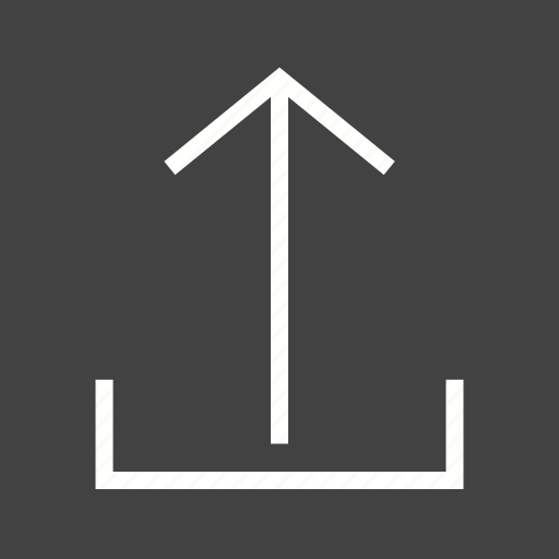 arrow, direction, down, internet, navigation, upload icon