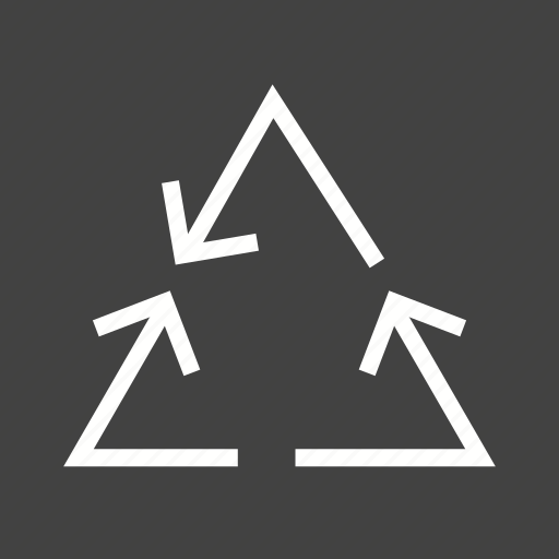 arrow, arrows, continual, cycle, energy, recycle, recycling icon