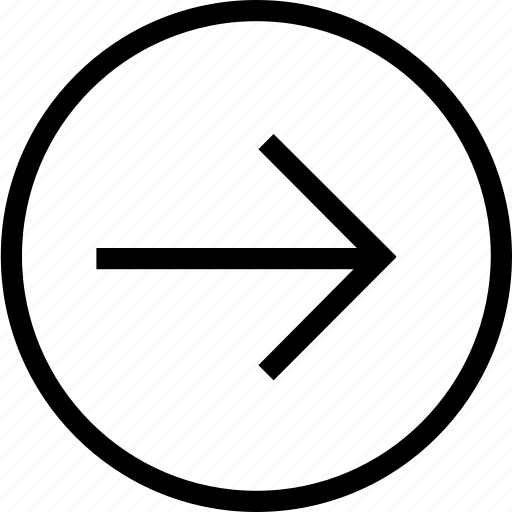 arrow, next, pointer, right icon