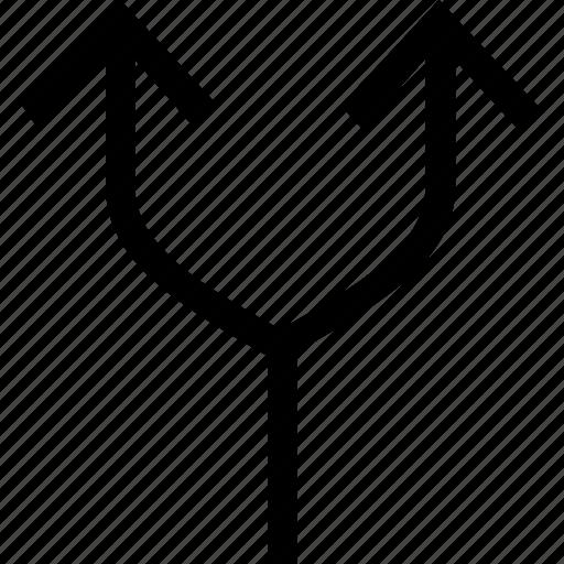arrows, mix, pointer, shuffle icon