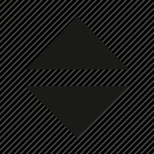 arrow, arrows, elevator buttons, elevator symbol, sort, unity icon