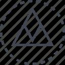 arrow, direction, go, up icon