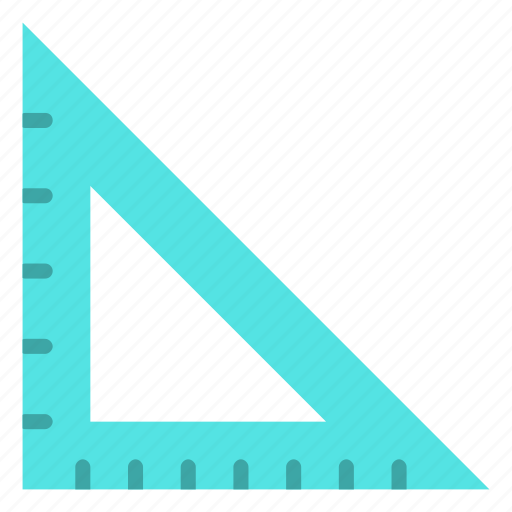 construction, geometry tool, learning, math, preschool, set squire icon