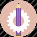 coal pencil, dark sketch pen, sketch pen, sketch pencil, sketch technique icon