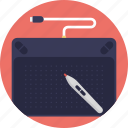 electronic sketch pen, graphics designing, sketch pad, sketching software, virtual drawing icon