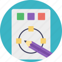 color palette, colorful drawing, intricate, painting, pencil sketch, sketch icon