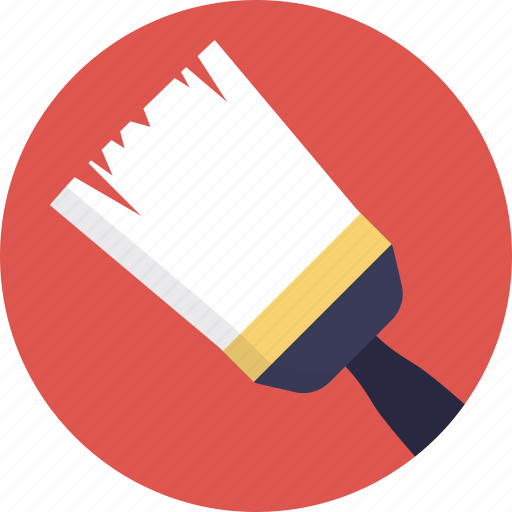 colors, designing, paint brush, wall paint, wall painting icon