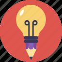 bright idea, bright light, creative idea, flash, lighting bulb icon