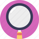 detailed look, lens, magnification, magnifying glass, searching icon