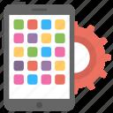 app marketing, application development, mobile app development, software development, ui marketing icon