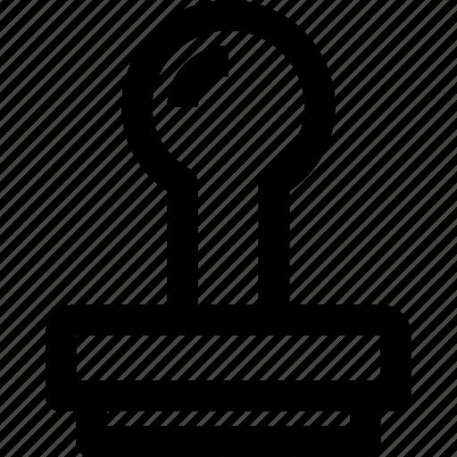 art, design, stamp, tool icon