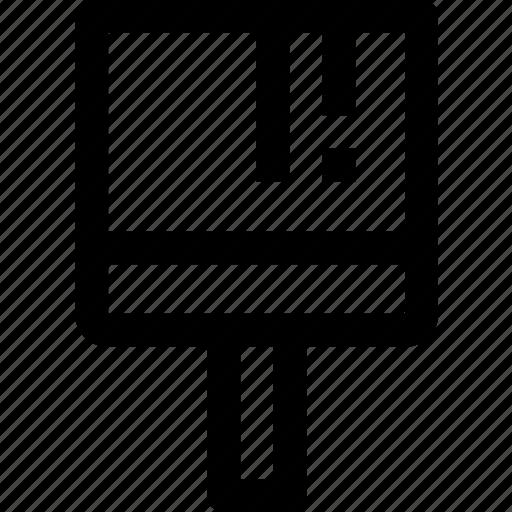 art, brush, design, tool icon