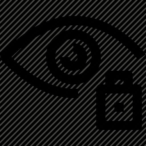 Eye, layer, lock icon - Download on Iconfinder on Iconfinder