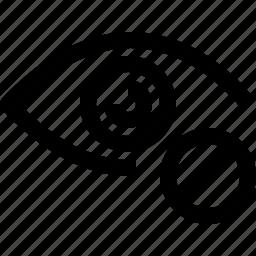 block, design, eye, layer icon