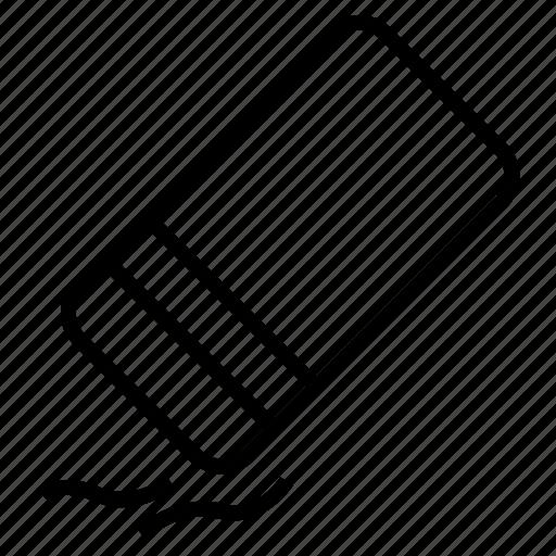 Eraser, remove, clean, edit, tools icon - Download on Iconfinder