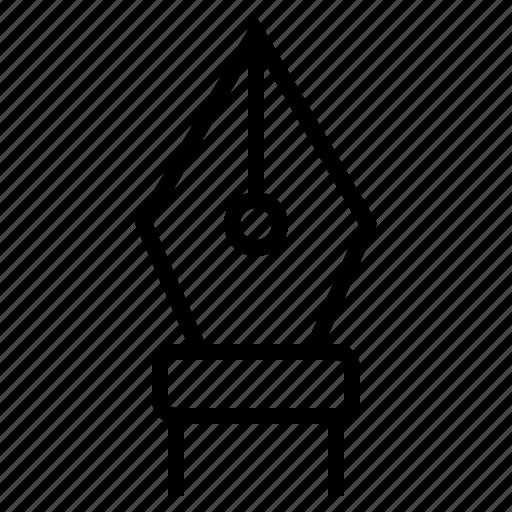 art, design, graphic, nibpen, pen, pentool icon