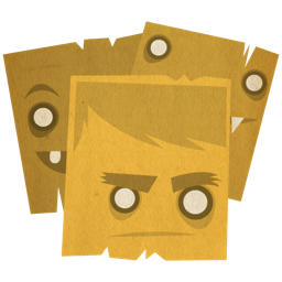 face, stickies icon