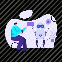 ai, robot, bionic person, personal robot, robotic device