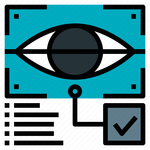 ai, artificial, eye, intelligence, scan icon
