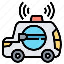 car, emergency, intelligent, transport, vehicle icon