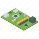 central processing unit, computer cpu chip, computer microprocessor, cpu chip, microchip, microprocessor icon