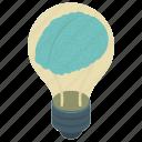 artificial intelligence, bright idea, creative brain, creative mind, human intelligence icon