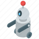 android, artificial intelligence, bionic man, humanoid, robot machine technology icon