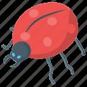 artificial intelligence, bionic beetle, bug robot, robot technology icon