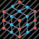 cell bonding, chemical bonding, molecular nanotechnology, molecular network, molecular technology icon