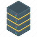 big data, data hosting, data storage, data storage server, datacenter, dataserver, dataserver network icon
