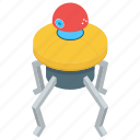artificial intelligence, bionic spider, electronic spider robot, robot technology icon