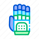 artificial, cyber, hand, intelligence icon