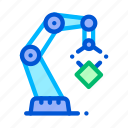 crane, mechanic, robot, transportation icon