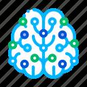 artificial, brain, intelligence icon icon