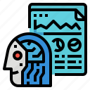 ai, artificial, business, intelligence icon